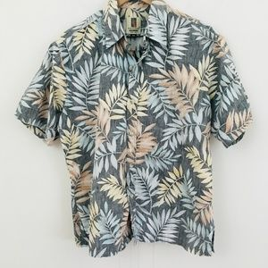 Tori Richard Hawaiian Short Sleeve Button Up